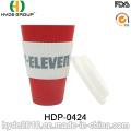 Varias tazas de café de fibra de bambú ambiental del color (HDP-0424)