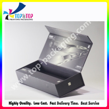 Offset Printing Hair Styling Iron Art Paper Foldable Magnetic Box