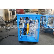 Compresor de alta presión del CNG del llenado del coche del uso casero