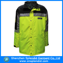 Latest Design Multi-Pockets High Visibility Reflective Security Jacket