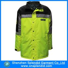Último design Multi-bolsos de alta visibilidade reflexiva segurança jaqueta