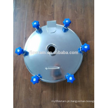 Sanitary aço inoxidável manway porta, elliptical manway