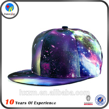 Small order custom printed snapback hats