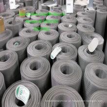 China Tela de filtro de aço inoxidável tecida Ss pano de fio 40micron
