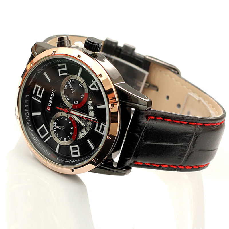 CURREN Leather Band Wrist Watch Wholesaler