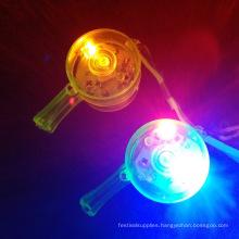 flashing plastic Flashing LED Whistles Lanyard Necklaces