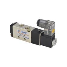 Válvula de solenoide / Válvula solenoide neumática de aleación de aluminio de cinco vías / dos posiciones