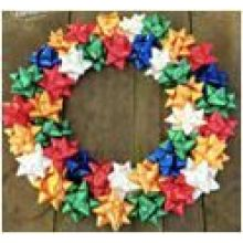Wholesale Star Bow for Thanksgiving Day Christmas Decoration