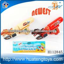 Neueste Sommer Plastik Sport Spielzeug Wasser Pistole mit Tasche großen Rucksack Wasser Pistole Spielzeug für Kinder H112845
