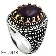 Novo modelo de acessórios de moda anel de prata esterlina
