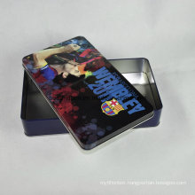 Customized Promotional Rectangular Metal Tin Box, Tin Can