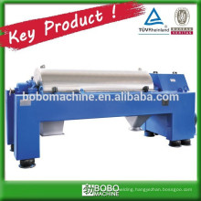 Horizontal centrifuge separator machine