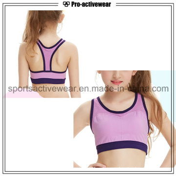 OEM Service Wholesale Custom Cheapest High Quality Child Sport Bra