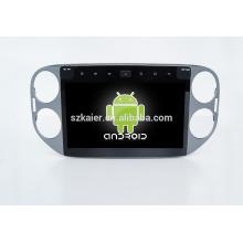 10.1 '', Fabrik direkt Quad-Core-Android für Auto-DVD-Player, GPS, OBD, SWC, Wi-Fi / 3g / 4g, BT, Spiegel Link für VW Touran