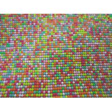 Colorful resin rhinestone sticker aluminum base 45*120cm