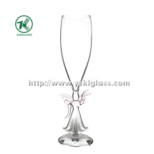 Single Wall Champagne Glass by SGS (DIA6*24)