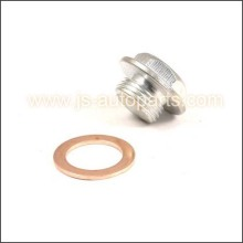 O2 OXYGEN SENSOR BUNG 02 FITTING PLUG CAP BOLT WITH GASKET