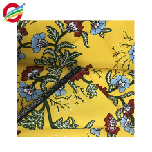 vente en gros polyester africain textile ankara wax tissu imprimé pour les femmes