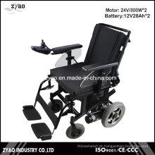 Elegante portátil portátil Leve Folding cadeira de rodas elétrica