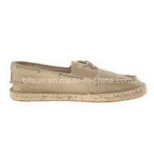 Causal Young Man Leather Boat Shoes for Wholesale