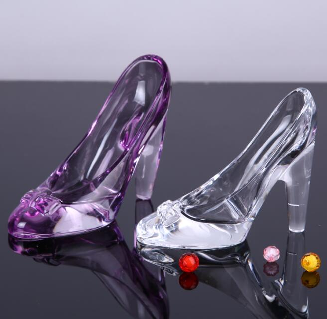 Decorative Glass Slippers For Wedding