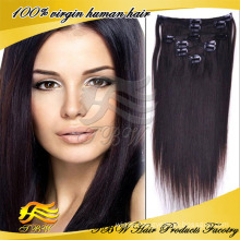 2014 New Arrival Wholesale Hair Factory Cheap Price 100% Remy Human Clip In Hair Extension