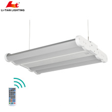 High performance ETL Pendant linear high bay lamp 0-10v dimming 200w 400w industrial led linear highbay