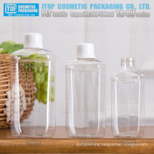 TB-DV Series 200ml 350ml and 500ml nice wide application innovative rounded rectangle blowing pet bottles for sale