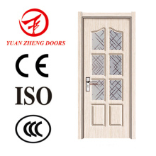 Latest Design PVC Door Prices Wood Door Handle