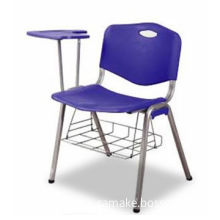 Folding Chair with ABS Plastic, Iron Net Frame, Stainless Steel Legs, Anti-static Coating