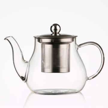 glass bottle borosilicate glass container china tea set glass tea pot kettle