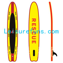drop stitch inflatable rescue paddle board