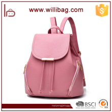 Wholesale Quality Fashion 2016 Woman Backpacks Shopping Lady Bags