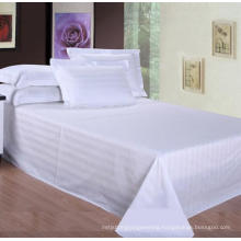 100% Cotton Stripe Flat Sheet (WSFS-2016008)
