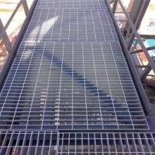 Gitterplatte aus verzinktem Stahl / Stahlgitter mit erhöhtem Boden