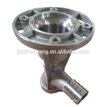 CNC machining resin-bonded alumnium sand casting products