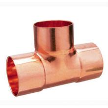 J9009 Copper Tee, CXCXC, raccord de tuyau en cuivre TEE égal, UPC, NSF SABS, WRAS approuvé