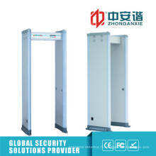 Super Sensibilité Porte-détecteur de métaux de la zone 12/12/18 pour une situation haut de gamme