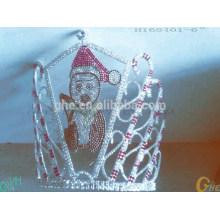 Corona del mundo de la falta Corona nupcial de la tiara de la boda de la nueva manera