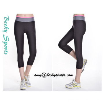 Lady′s Yoga Wear Sportwear Yoga Pants with Custom Color