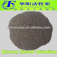60 #mesh grão de óxido de alumínio marrom / jato de areia de óxido de alumínio