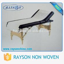 Ruixin высокое качество одноразовые нетканые ткани нетканые Массаж бумагу с сплит