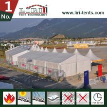 6 * 9m Tente de secours en cas de catastrophe / Tente de désastre / Tente de l'armée