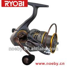 RYOBI SLAM 5000 HALF - rolamentos de construção de metal, capa de bobina de pesca de neoprene