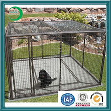 Dog Kennel Chain Link Kennel Welding Mesh Kennel, Steel Mesh Wire Dog Kennel, Heavy Duty Cage Pet Dog Cat Metal Play Pen Kennel