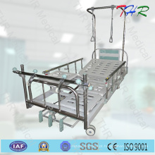 Hospital 3-Crank cama ortopédica manual