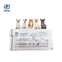 Chip de rastreamento de animais ICAR RFID usado uma vez