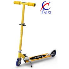 Crianças scooters com roda piscando do pvc (bx-2m009)