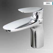 Single hole brass bathroom taps faucet mixer tap