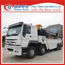 Camión de remolque de SINOTRUK HOWO 8X4 16ton con el torno para la venta